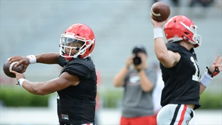 UGA Scrimmages in Sanford Stadium: Photos