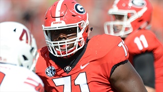 Dawg Post Practice Report: Andrew Thomas Still Absent From Practice