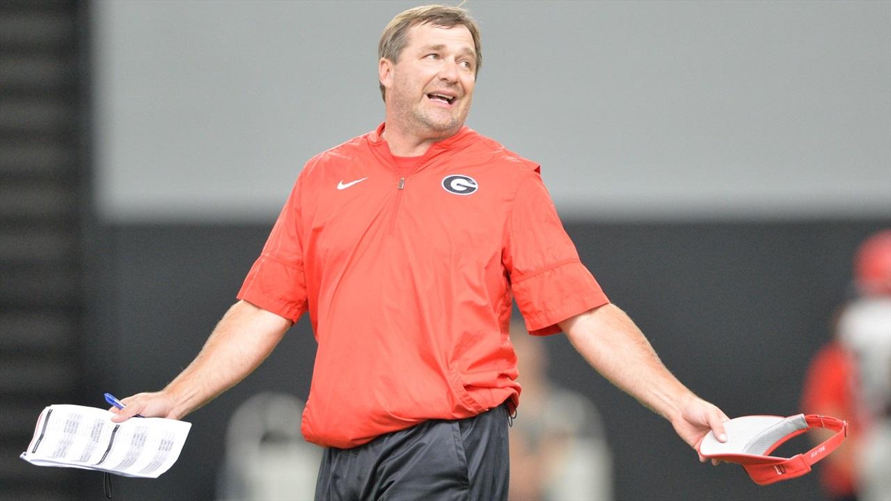 Kirby Smart's Georgia Bulldogs Place School-Record Nine Players in 2021 NFL Draft