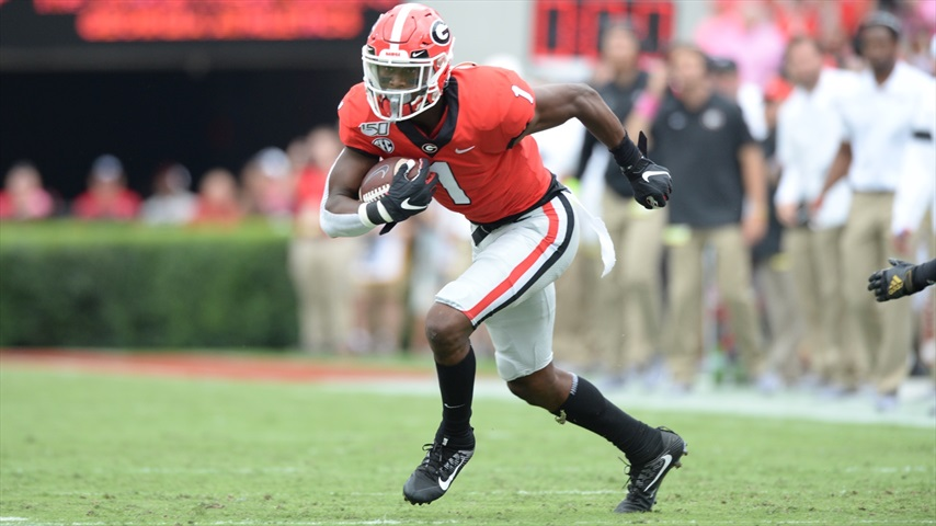Georgia Bulldogs Practice Observations: When Will We See George Pickens Again?