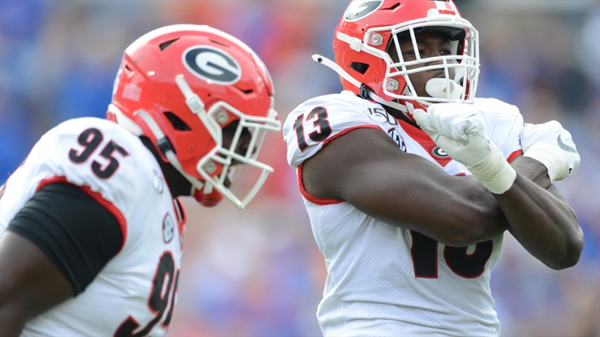 Does Georgia Have a Guy To Replace Azeez Ojulari?