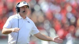 "Georgia Bulldogs coach Kirby Smart: ""Quarterbacks want to play at Georgia"""