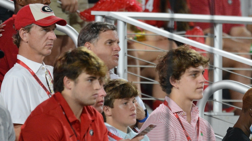 Georgia Bulldogs coach Kirby Smart Visits 5-Star QB Arch Manning in New Orleans